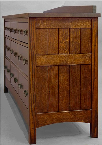 Mission 9 Drawer Bureau #823