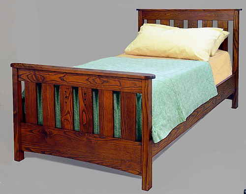 Mackintosh Slat Bed #710