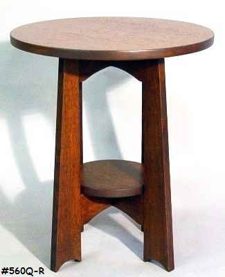 Round Board Leg Table 2