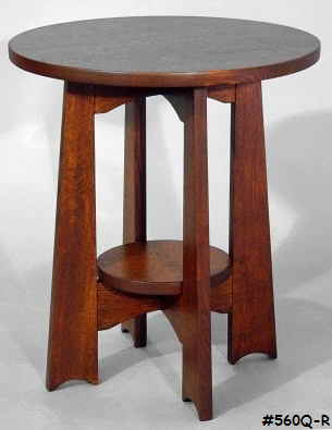 Round Board Leg Table #560