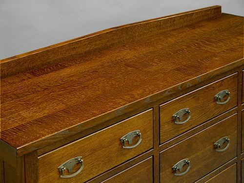 Mission 9 Drawer Bureau #813