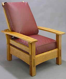 Mission Bow Arm Morris Chair