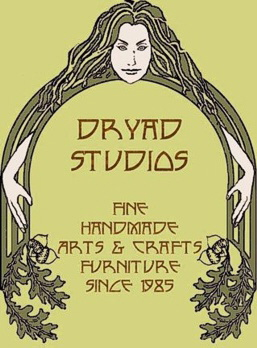 Dryad Studios Fine Handmade Arts & Crafts Furniture