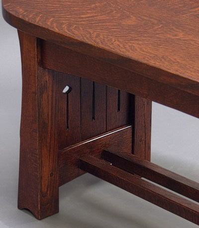 MACKINTOSH COFFEE TABLE DETAIL