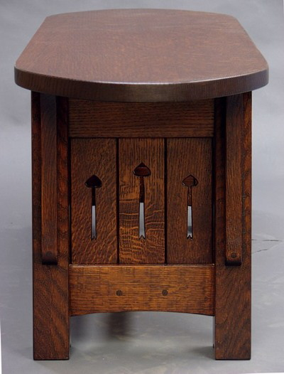 MACKINTOSH COFFEE TABLE END