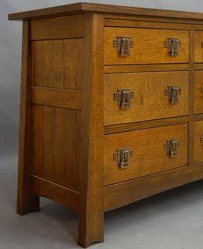 Mackintosh 9 Drawer Chest #825