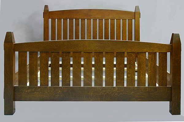 Mission SLAT QUEEN BED