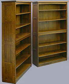 Mission Slat Bookcases