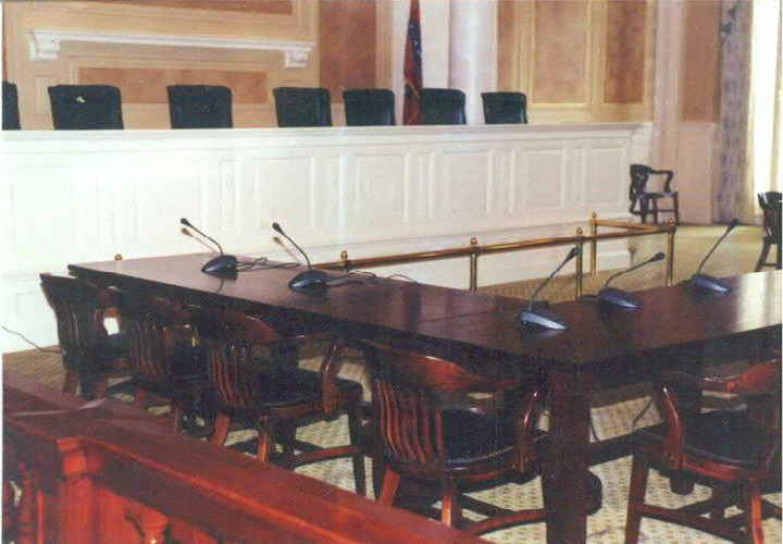 Supreme Court Chamber Tables