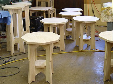 WHITE WOOD TABLES