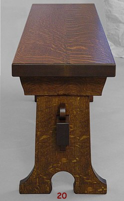 chair portfolio bench end