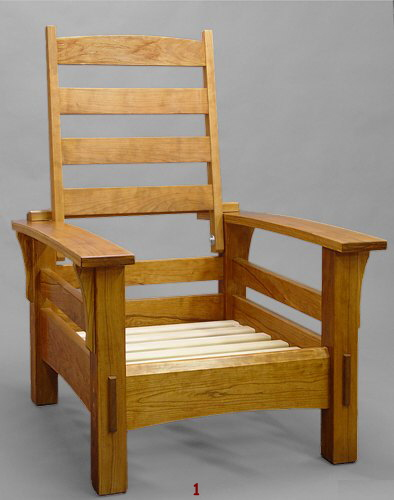 cherry morris chair frame