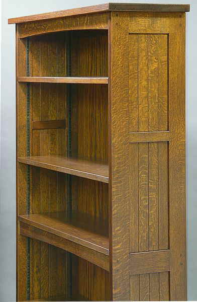 Mission Slat  Bookcase
