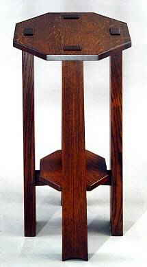 Arts & Crafts Tenon Top Stand #605